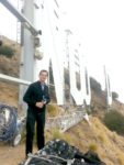 Reporter gets first-hand look at Hollywood sign's makeover