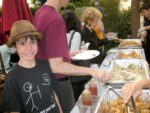 Taste of Larchmont was a winner for Hope-Net!