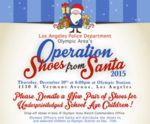 Help Santa deliver shoes to needy kids in Olympic