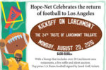 'Taste of Larchmont' to celebrate Los Angeles Rams return