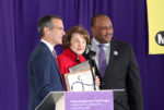 Metro salutes Sen. Feinstein at Purple Line groundbreaking