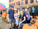 Hoedown and pumpkins on Blvd.