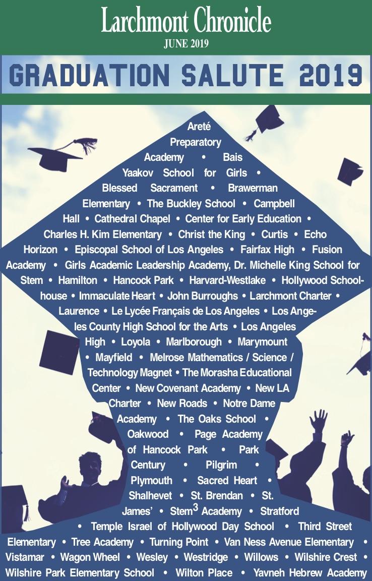 2019 Graduate Salute