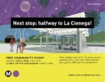 Celebration for Purple Line Subway: it's halfway there