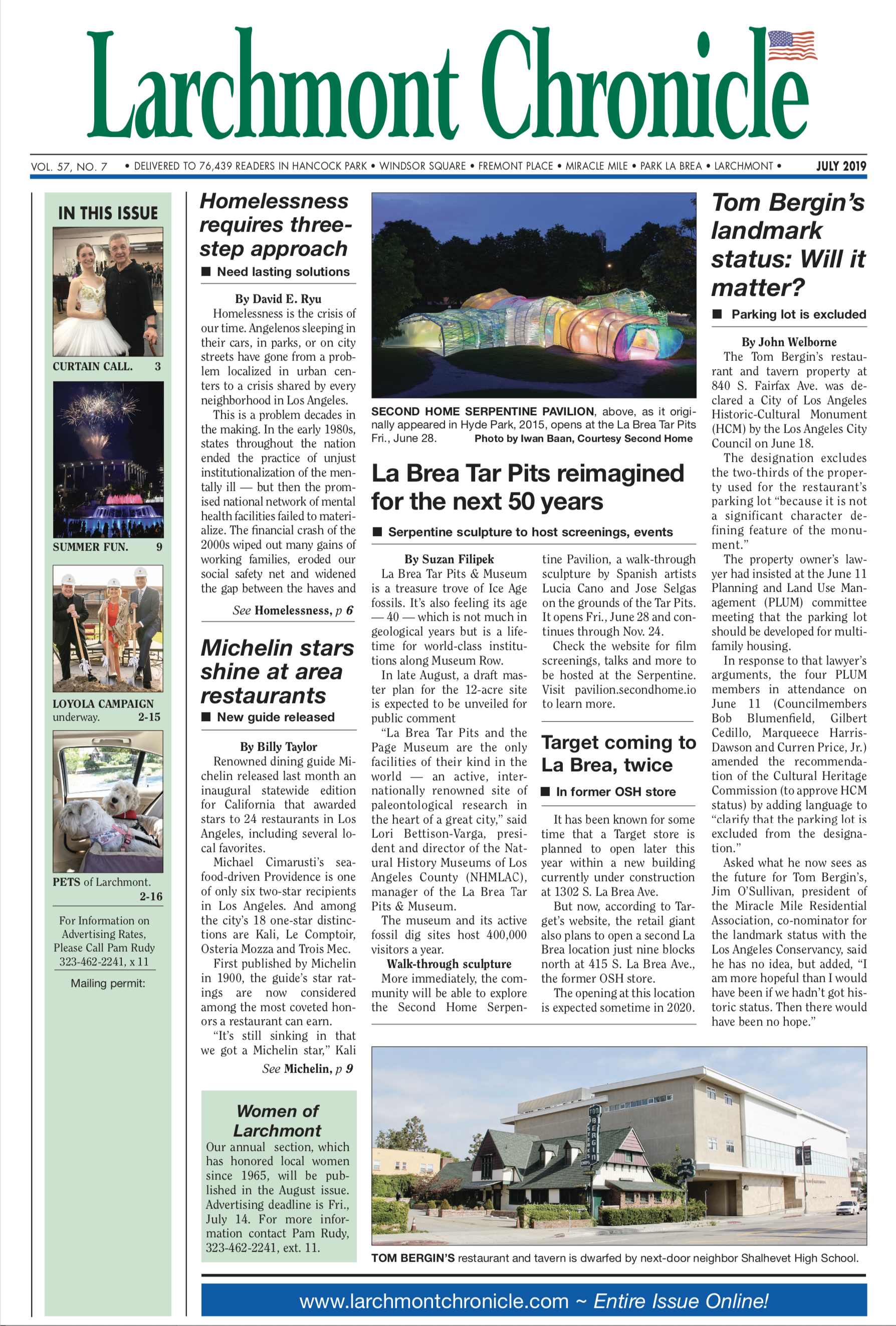 Larchmont Chronicle July 2019 full issue