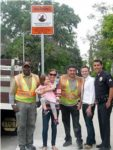 Neighborhood Watch Signs are Unveiled on N. Windsor