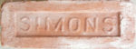 Trademark 'S' is reminder of Simons brick manufacturer