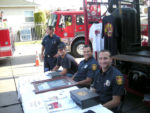 Pancake breakfast at Los Angeles Fire Station 61 attracts 500
