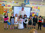St. Brendan students celebrate marriage of 'Q' and 'U'