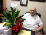 Brother Patrick Corr turned 99 at St. John of God Retirement and Care Center he helped build