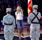 Oh say can you see: 'National Anthem Girl' aims to perform patriotic tune in all 50 states