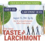 'Come together' for Hope-Net at Taste  of Larchmont Aug. 25