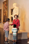Art museum is second home to tour guide Patsy Palmer