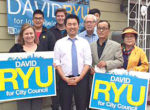 Ryu takes office July 1 following runoff victory
