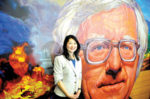 Ray Bradbury mural unveiled at Los Angeles High open house