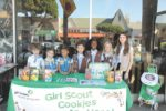 Girl Scout cookies will be sold on Larchmont Blvd.