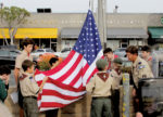 Ceremony salutes new flag, raised in Larchmont Village