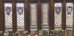Stained glass panels honor alumni at Memorial library