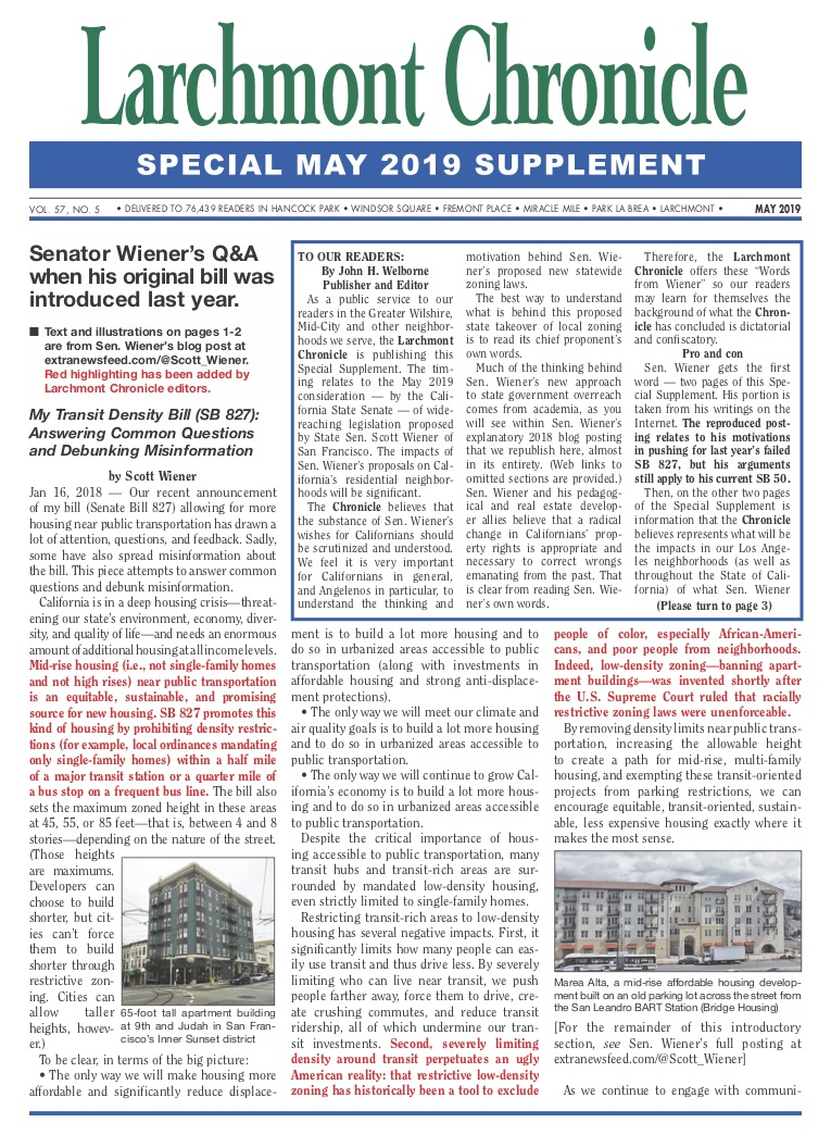 Larchmont Chronicle Special Supplement