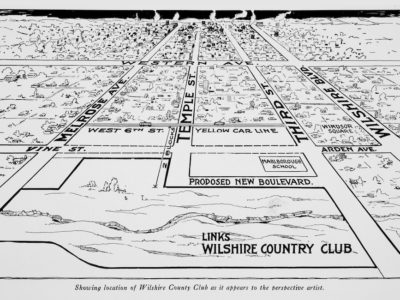 Wilshire Country Club, organized near tar fields in the 'wilderness' by local businessmen in 1919, celebrates 100th