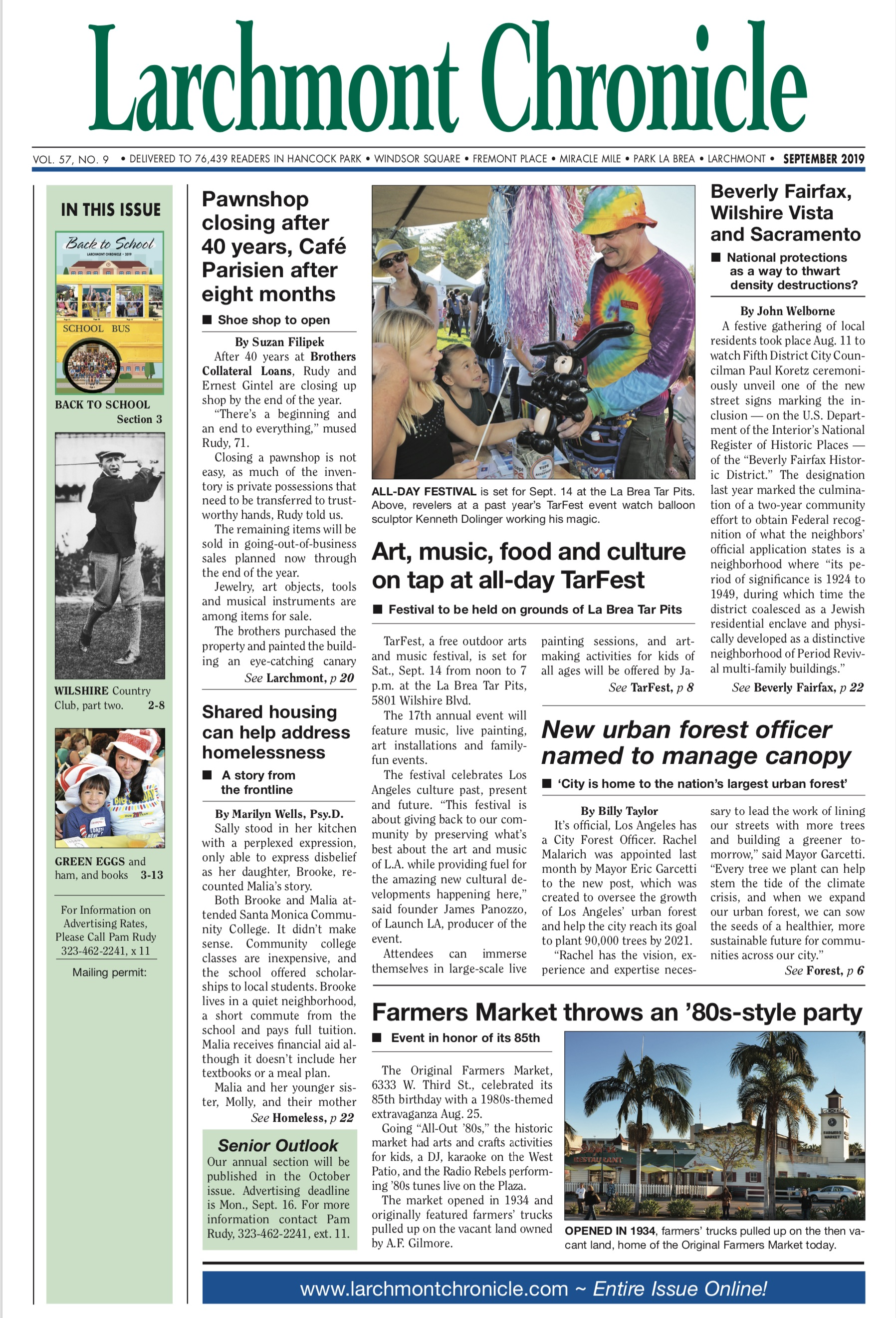 Larchmont Chronicle September 2019 full issue