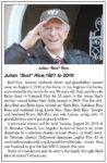 "Julian ""Bud"" Rice, 1921 to 2019"