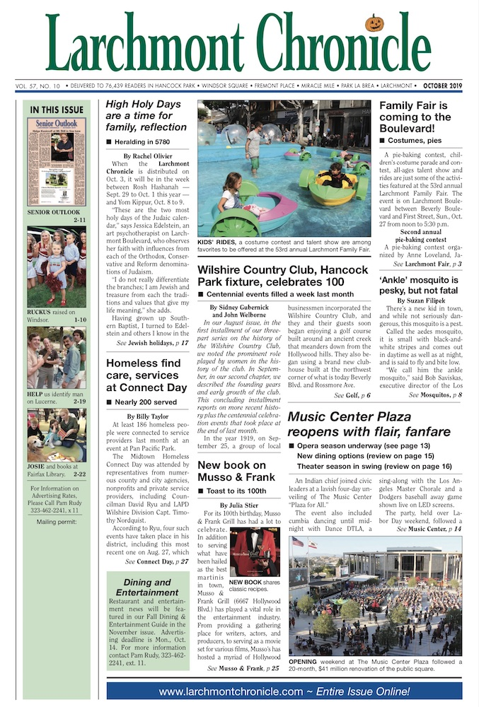 Larchmont Chronicle October 2019 full issue