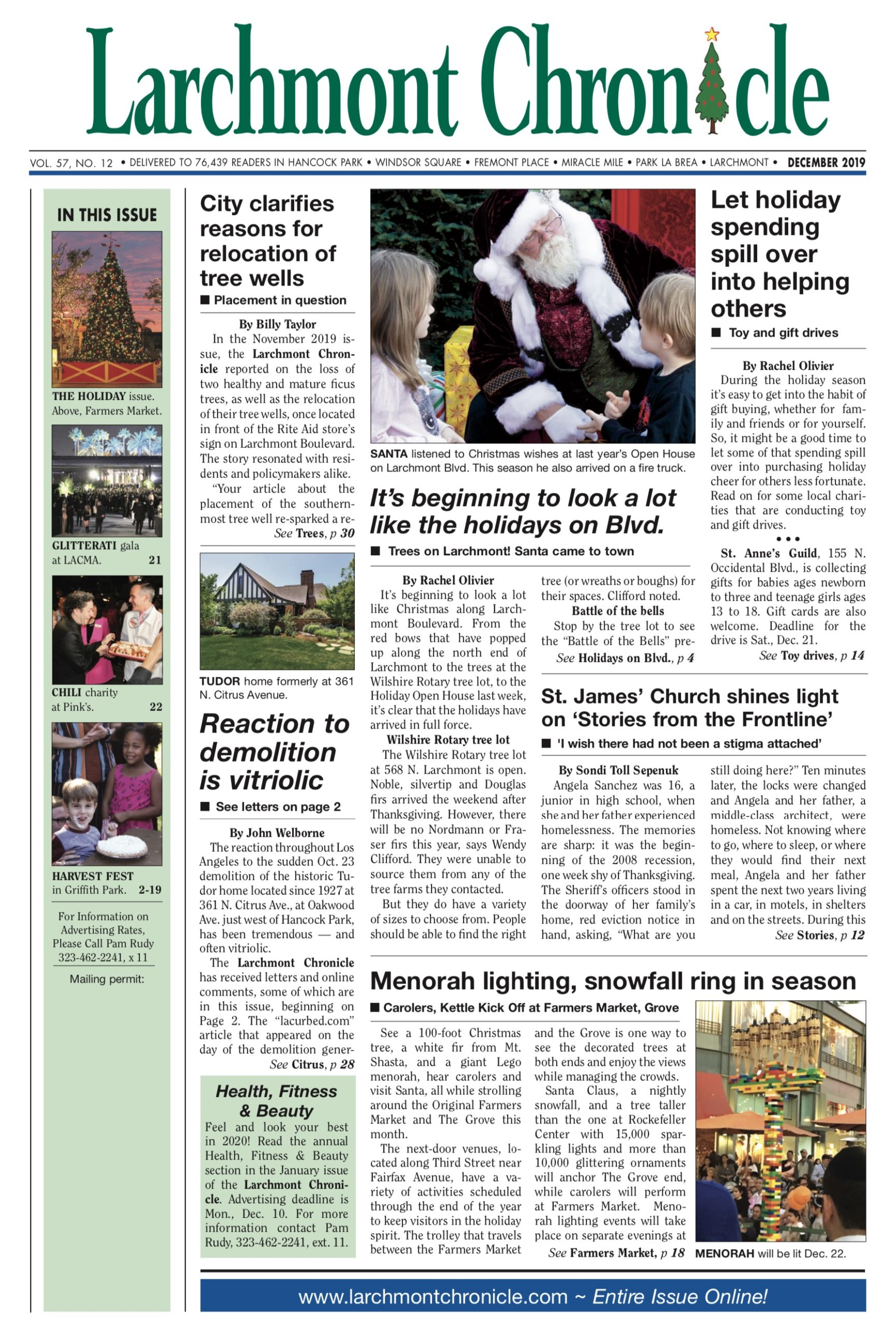 Larchmont Chronicle December 2019 full issue