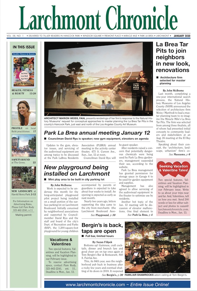 Larchmont Chronicle January 2020 full issue