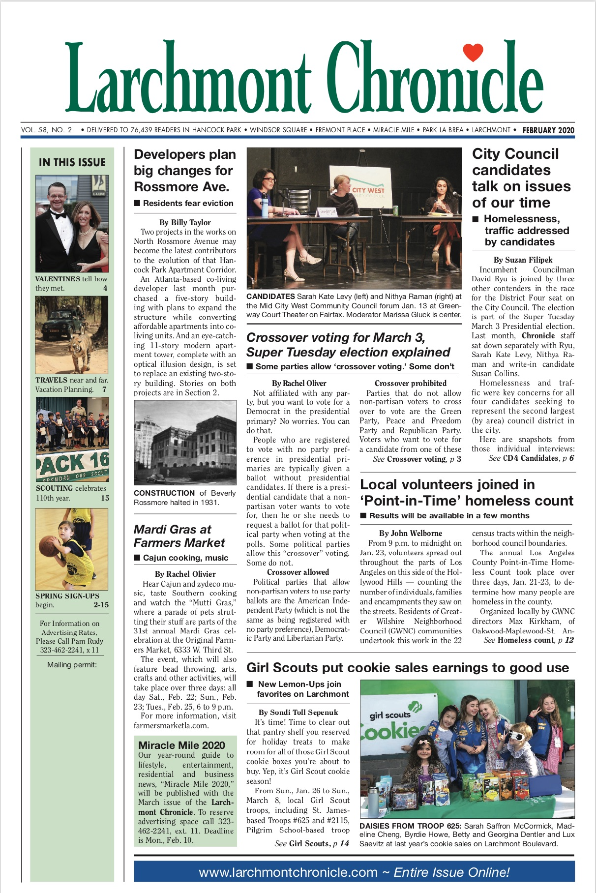 Larchmont Chronicle February 2020 full issue