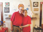 Crossed wires spell love for couple celebrating 47 years together