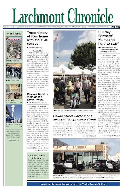 Larchmont Chronicle March 2020 full issue