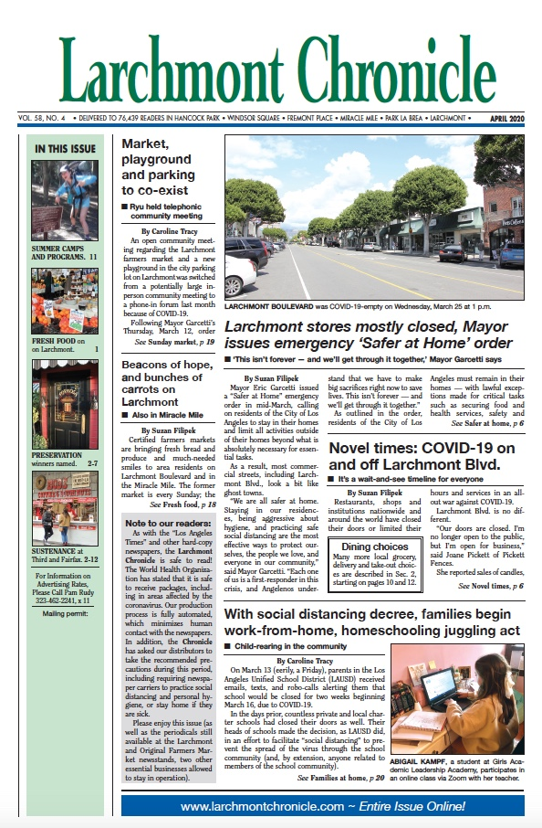 Larchmont Chronicle April 2020 full issue
