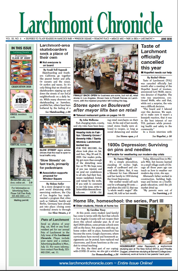 Larchmont Chronicle June 2020 full issue