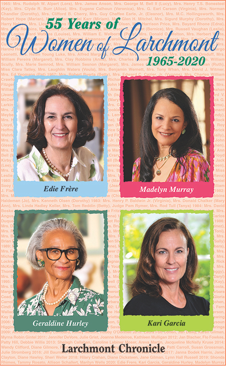 Click below to read the 2020 Women of Larchmont