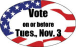 Contested local seats on Nov. 3 ballot