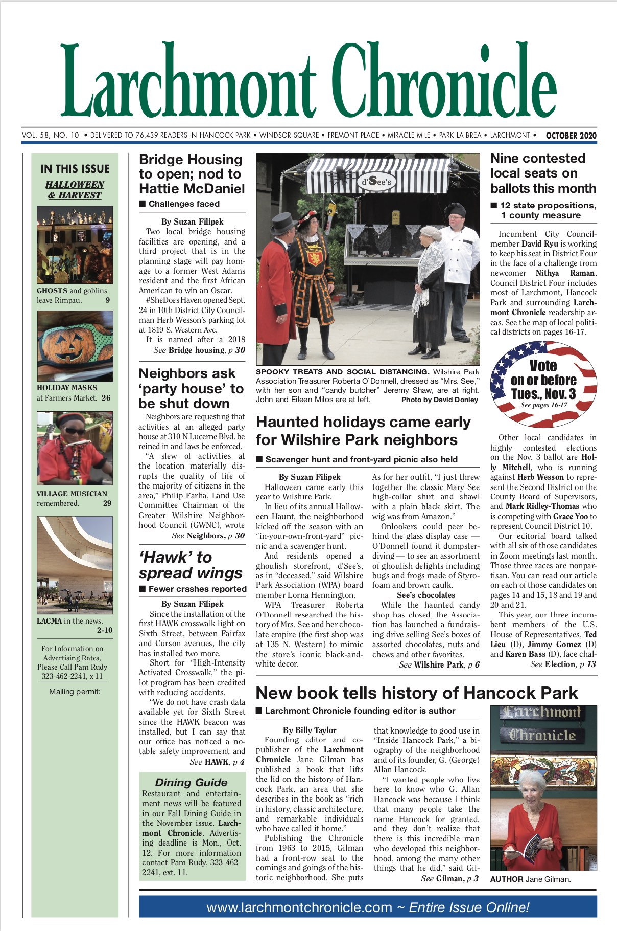 Larchmont Chronicle October 2020 full issue