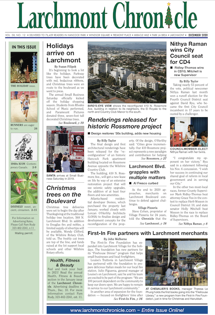 Larchmont Chronicle December 2020 full issue