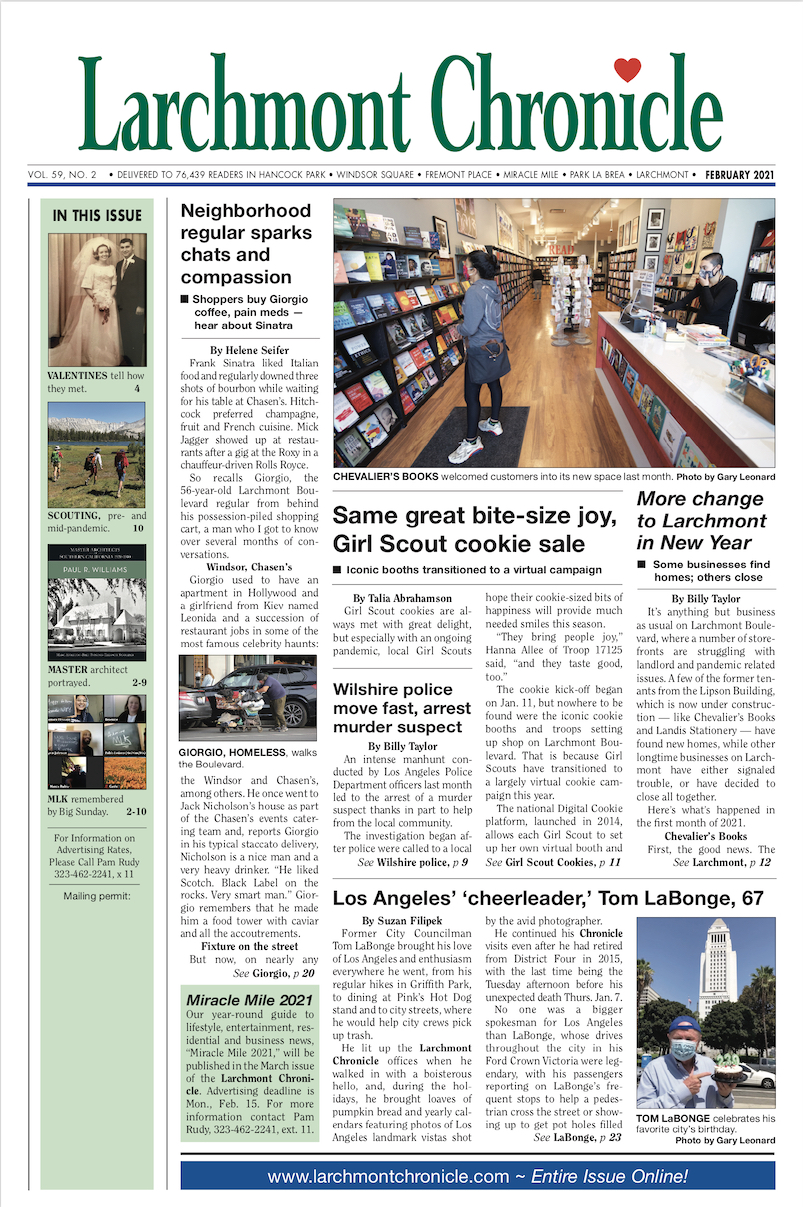 Larchmont Chronicle February 2021 full issue