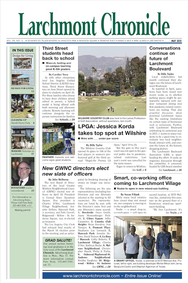 Larchmont Chronicle May 2021 full issue