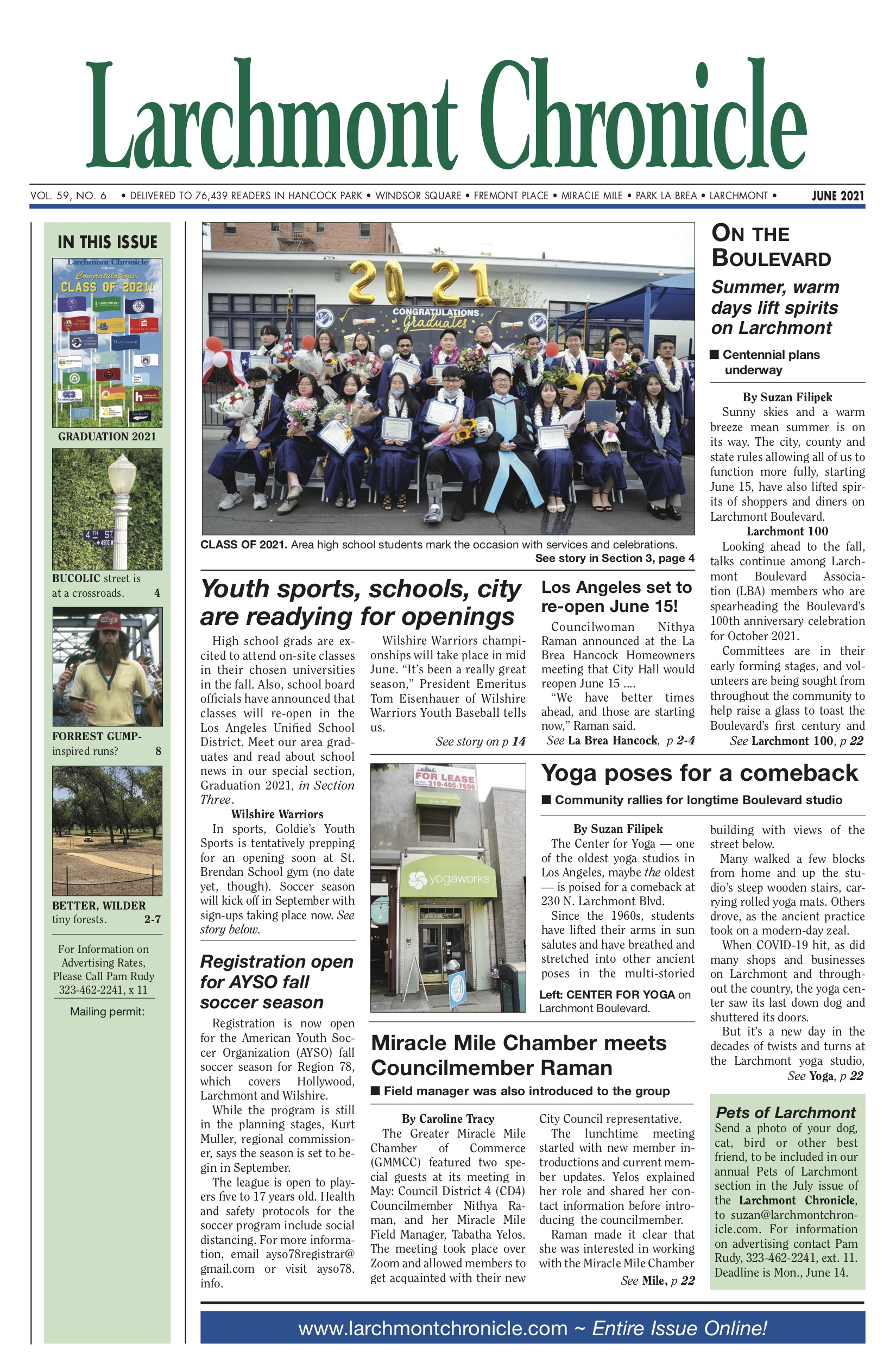 Larchmont Chronicle June 2021 full issue