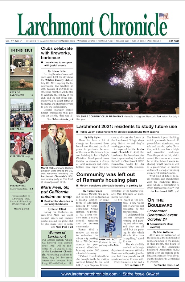 Larchmont Chronicle July 2021 full issue