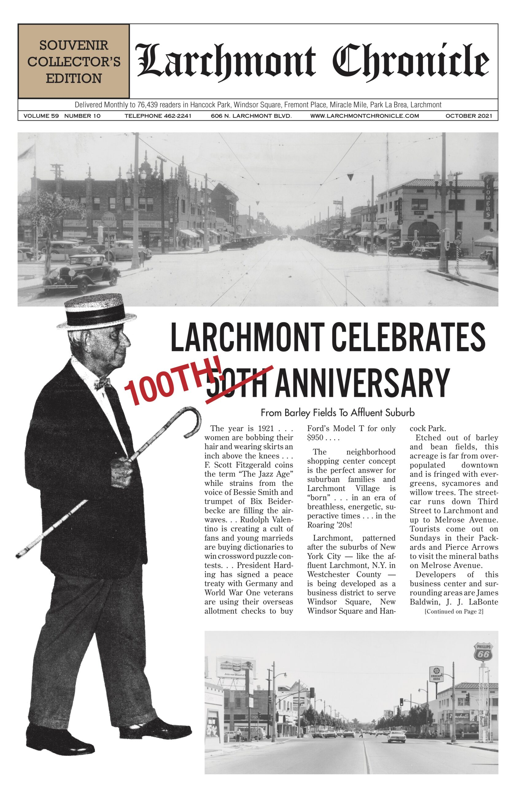Larchmont Chronicle October 2021 full issue