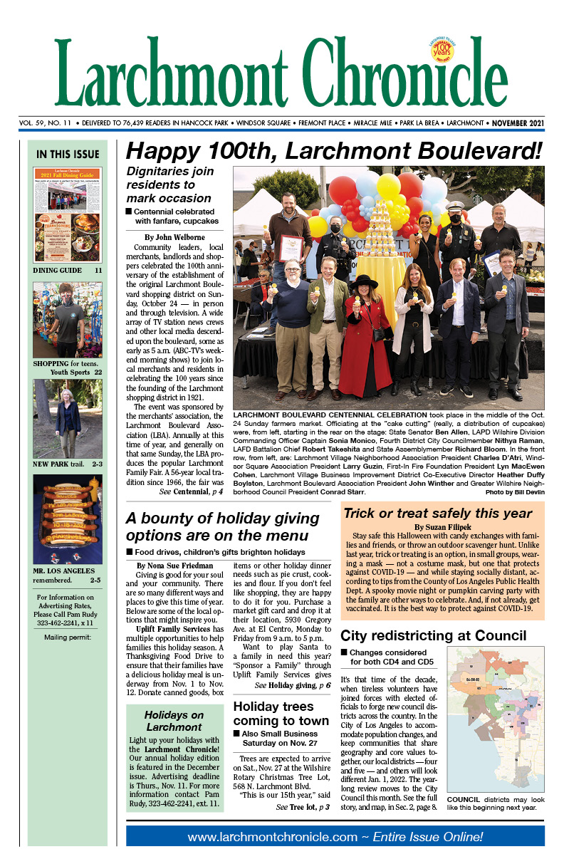 Click here to read news for the November 2021 issue
